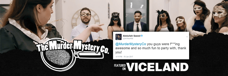 The Murder Mystery Company is featured on VICELAND